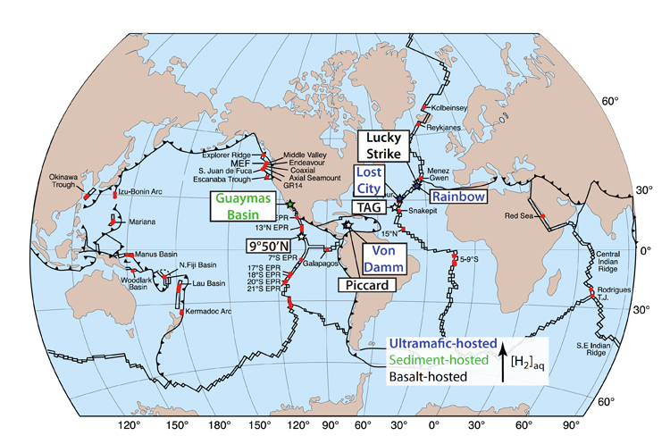 an analysis of hydrothermal vent Structure and evolution of hydrothermal vent complexes in the karoo basin, south africa  graphic analysis (1) do sediment-dominated hydrothermal vent.
