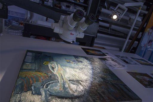 Picasso painting reveals hidden man (Update)