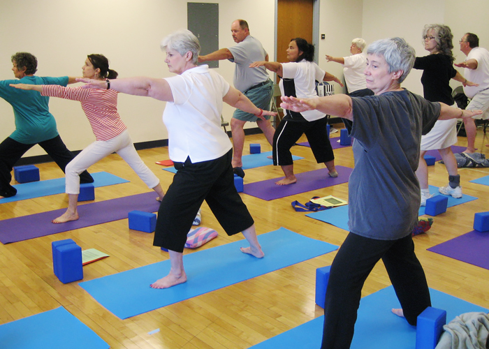 Study Suggests Hatha Yoga Boosts Brain Function In Older