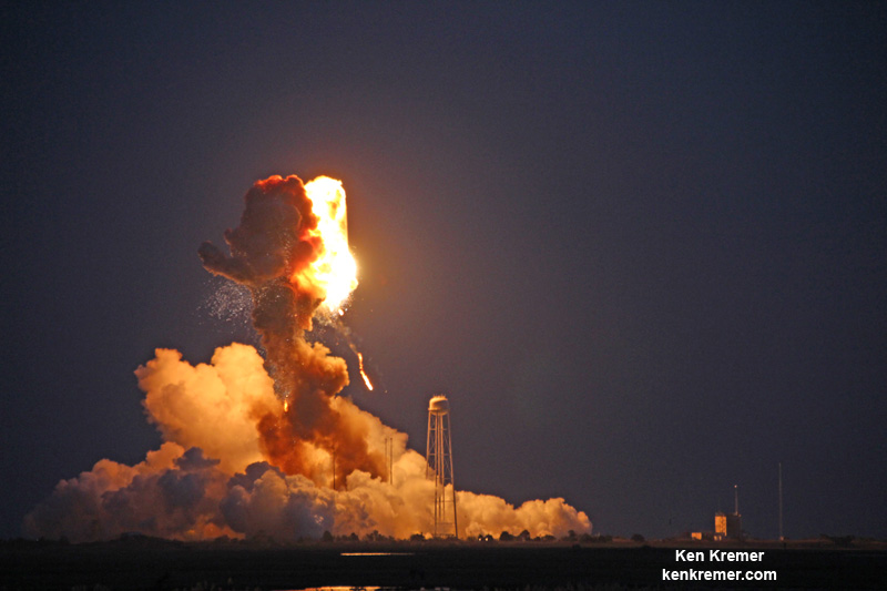 Antares explosion investigation focuses on first stage ...