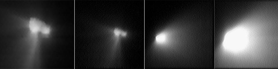 Image result for vega 2 comet halley flyby