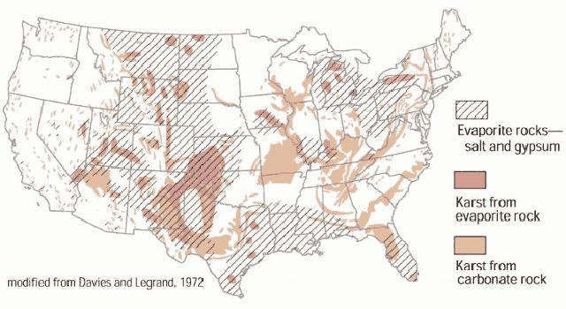 Sinkhole Map Florida.Nasa Radar Demonstrates Ability To Foresee Sinkholes