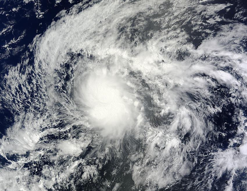 NASA satellite catches birth of Tropical Storm Wali near ...