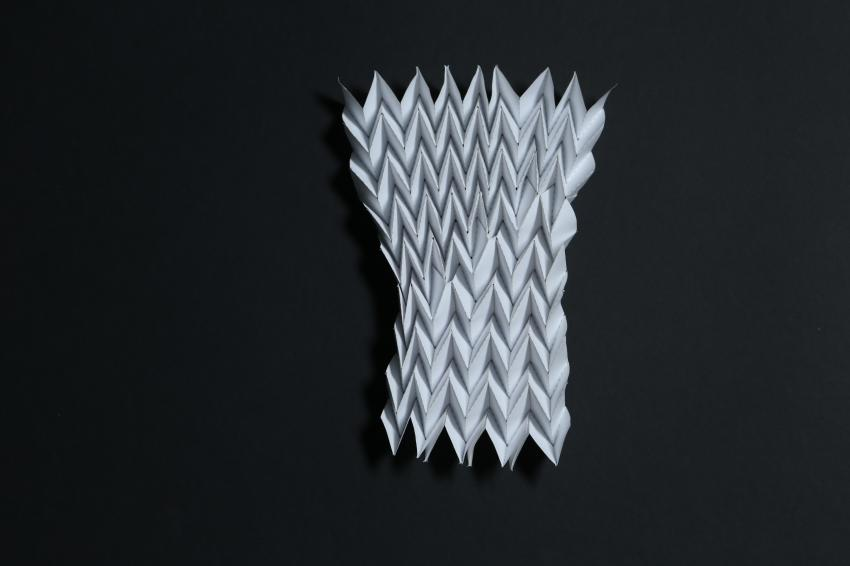 Learning From Origami To Design New Materials