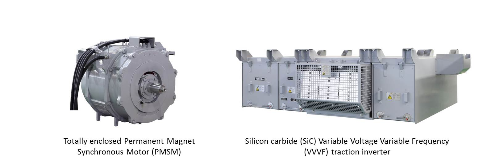 Permanent Magnet Motor >> Toshiba delivers world's first propulsion system integrating PMSM and SiC diode to Tokyo metro