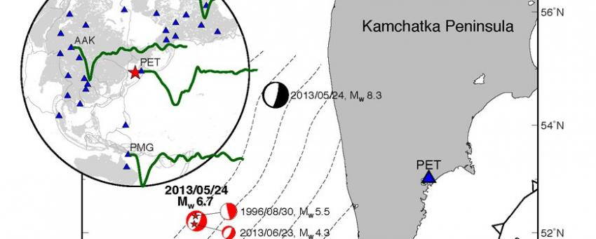 researchers find evidence of super fast deep earthquake rh phys org Tsunami Diagram Earthquake Cartoon