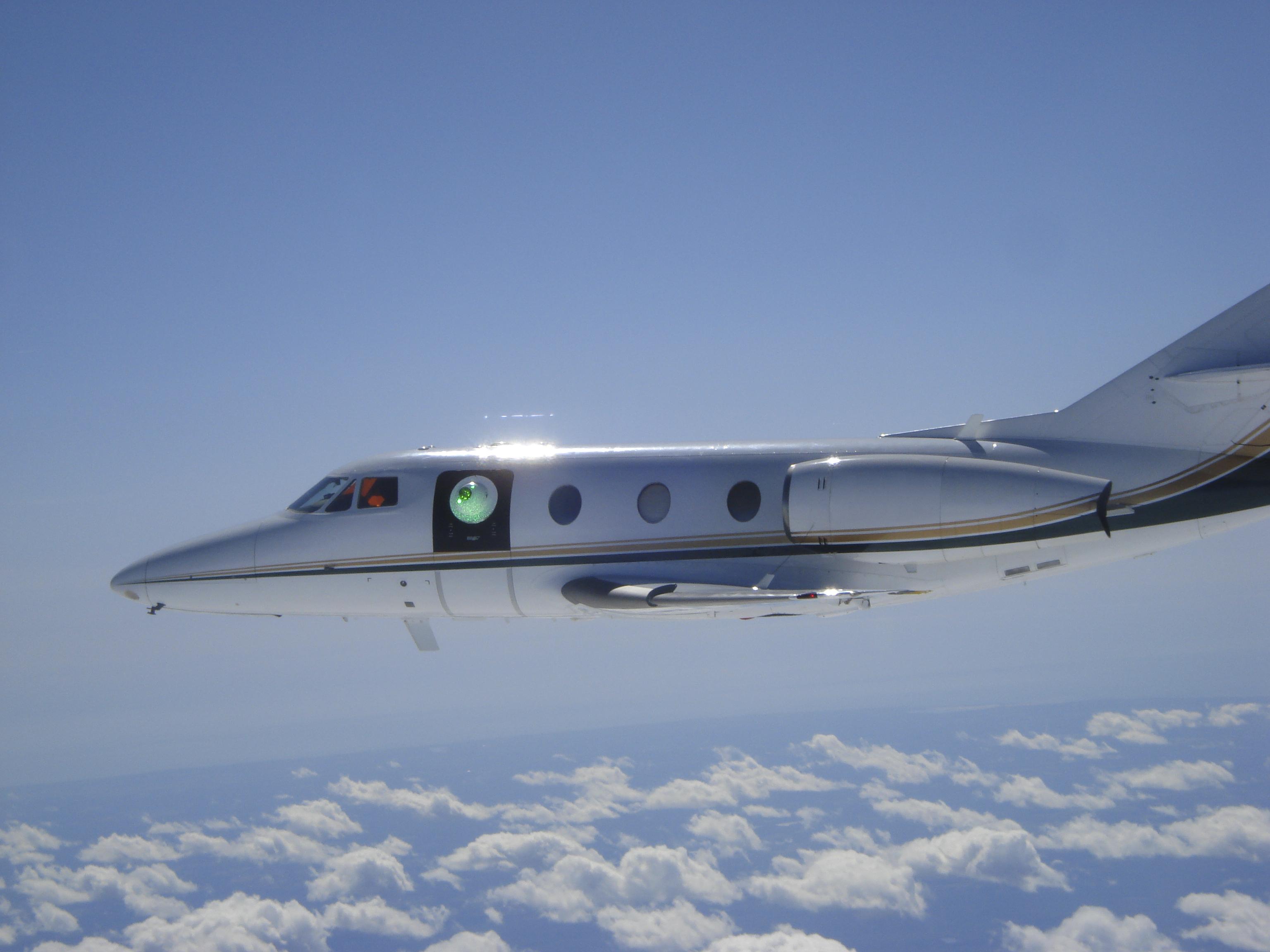 Lockheed Martin Conducts Flight Tests Of Aircraft Laser