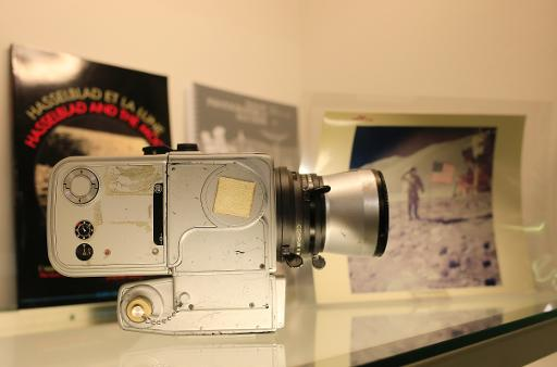 unique camera from nasa s moon missions sold at auction