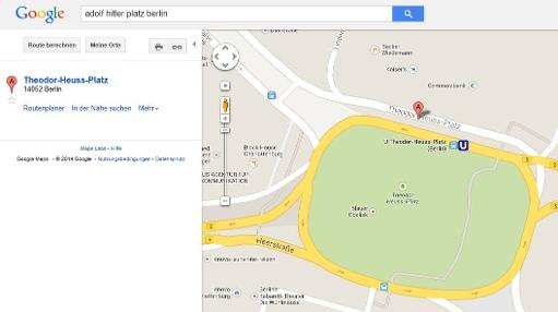 Google says sorry to Germany over \'Adolf Hitler Square\'