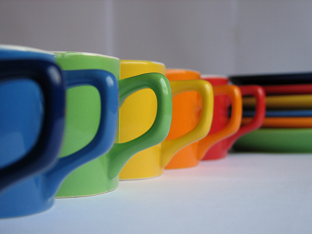 Bitter coffee today? Try changing the colour of your cup