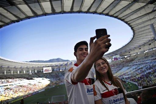 Image result for football fans selfie