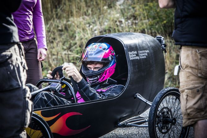 Building The World S Fastest Downhill Racer