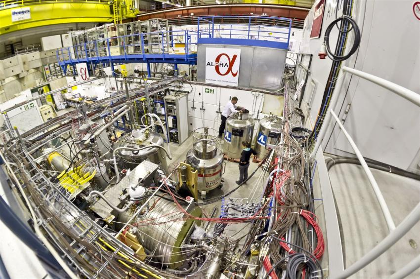 Cern pictures of antimatter