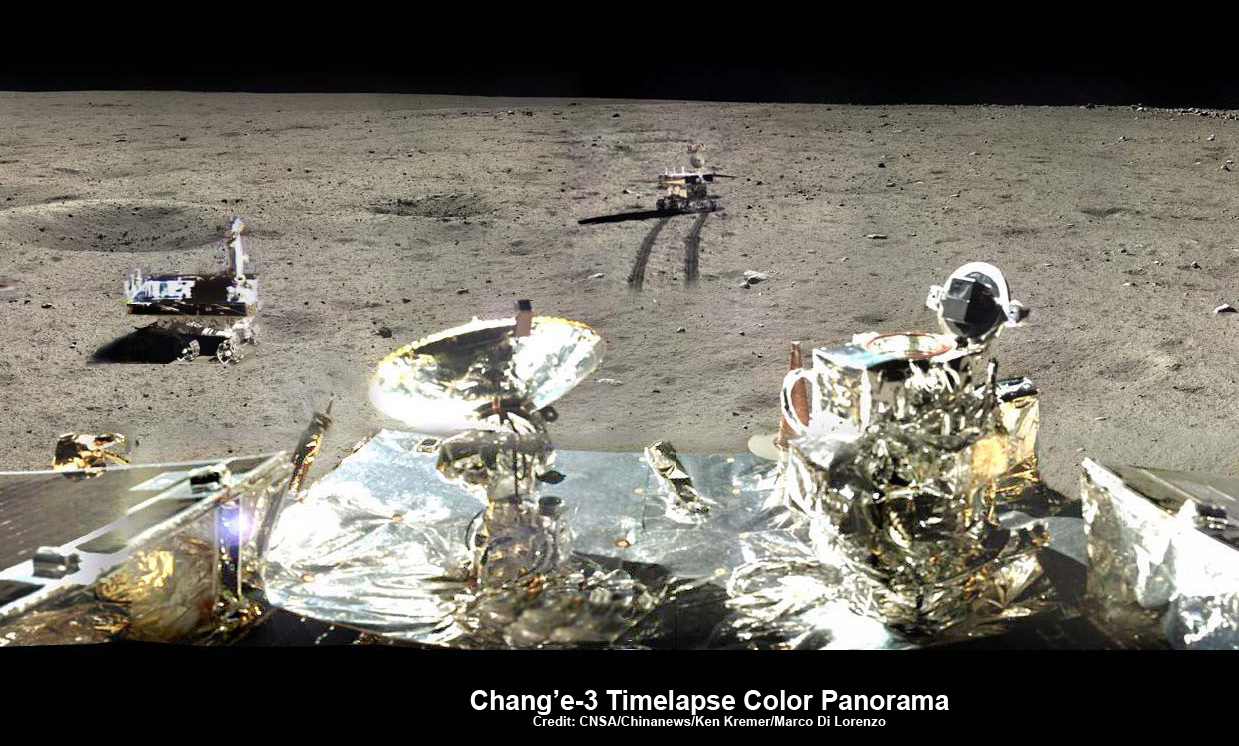 China S Yutu Moon Rover Unable To Properly Maneuver Solar