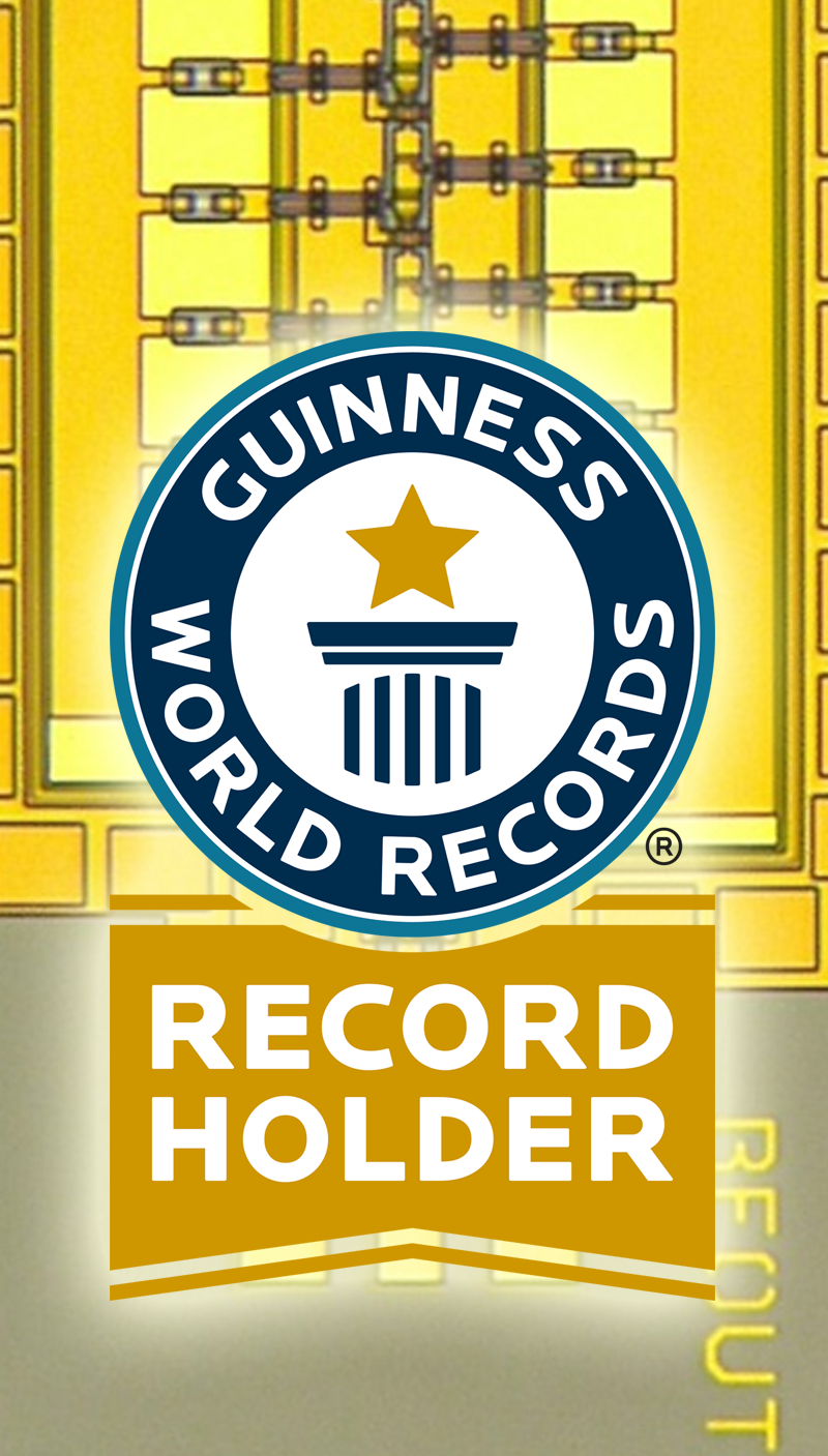Darpa Circuit Achieves Speeds Of 1 Trillion Cycles Per Second Earns Terahertz Transistors Guinness World Record