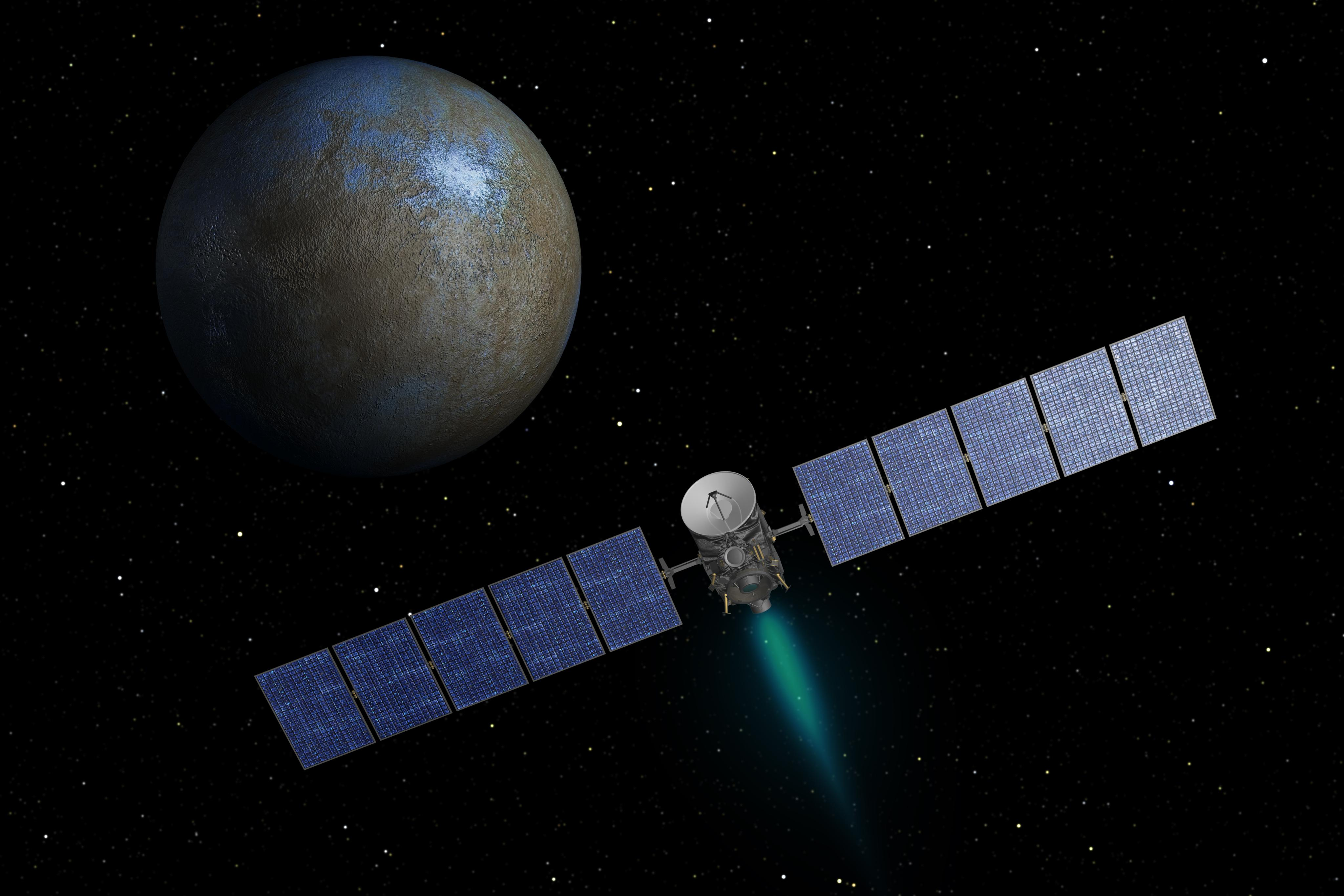 Картинки по запросу spacecraft dawn