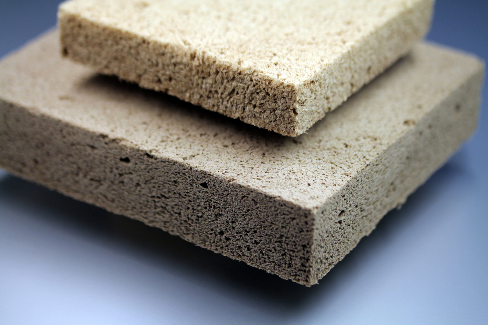 Styrofoam Building Material : Effective thermal insulation with wood foam