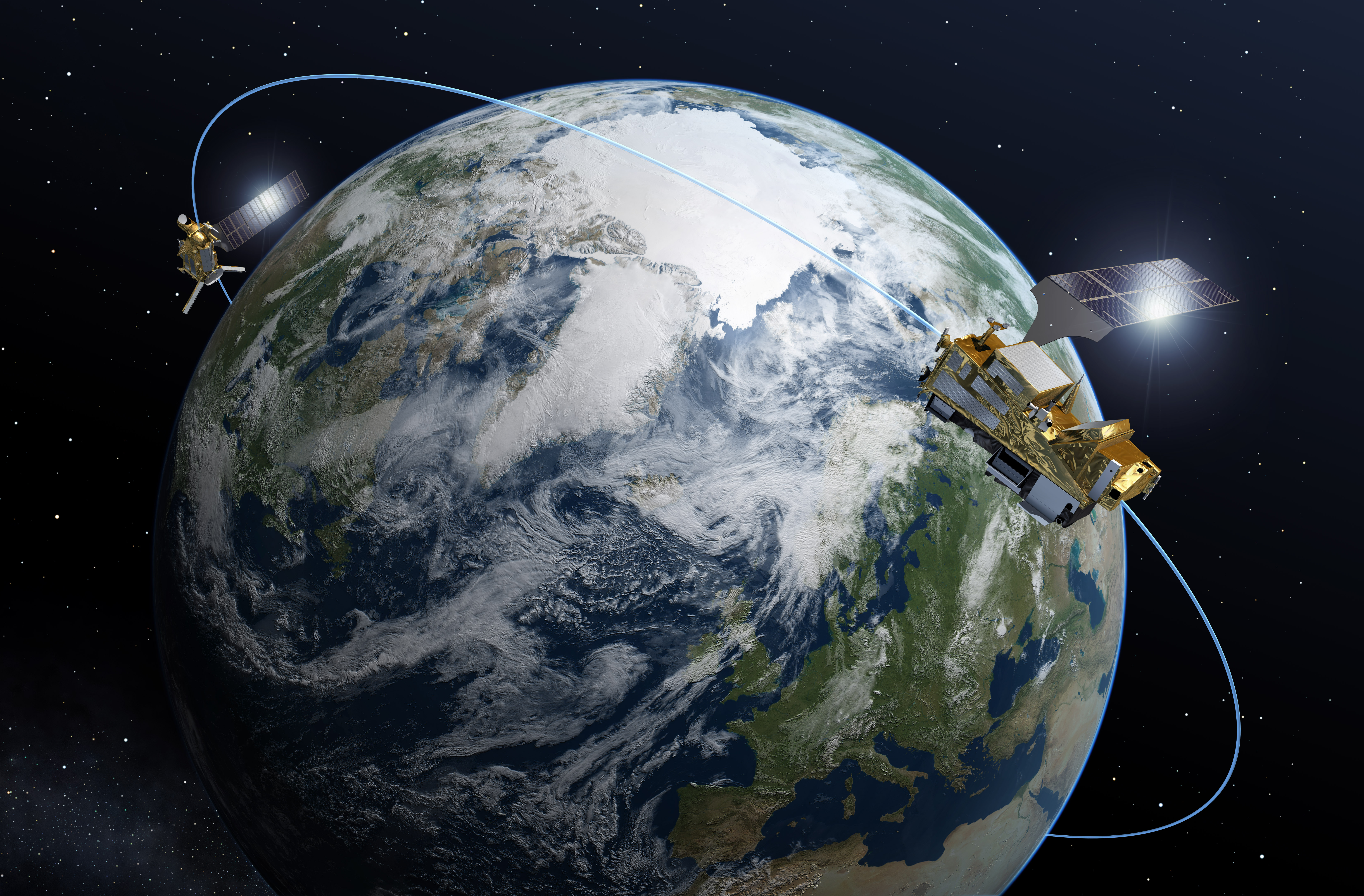 Secures New Generation Of Weather Satellites - World weather live satellite view