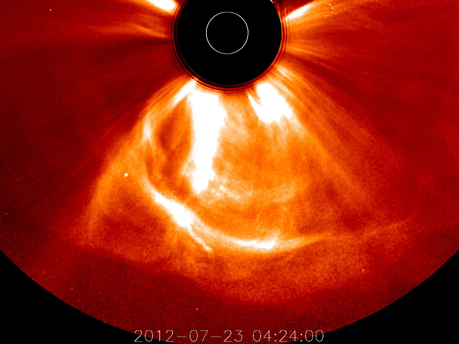 solar flare 2012 misses earth - photo #13