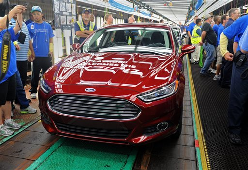 Ford Recalls Fusions Software Causes Key Problem