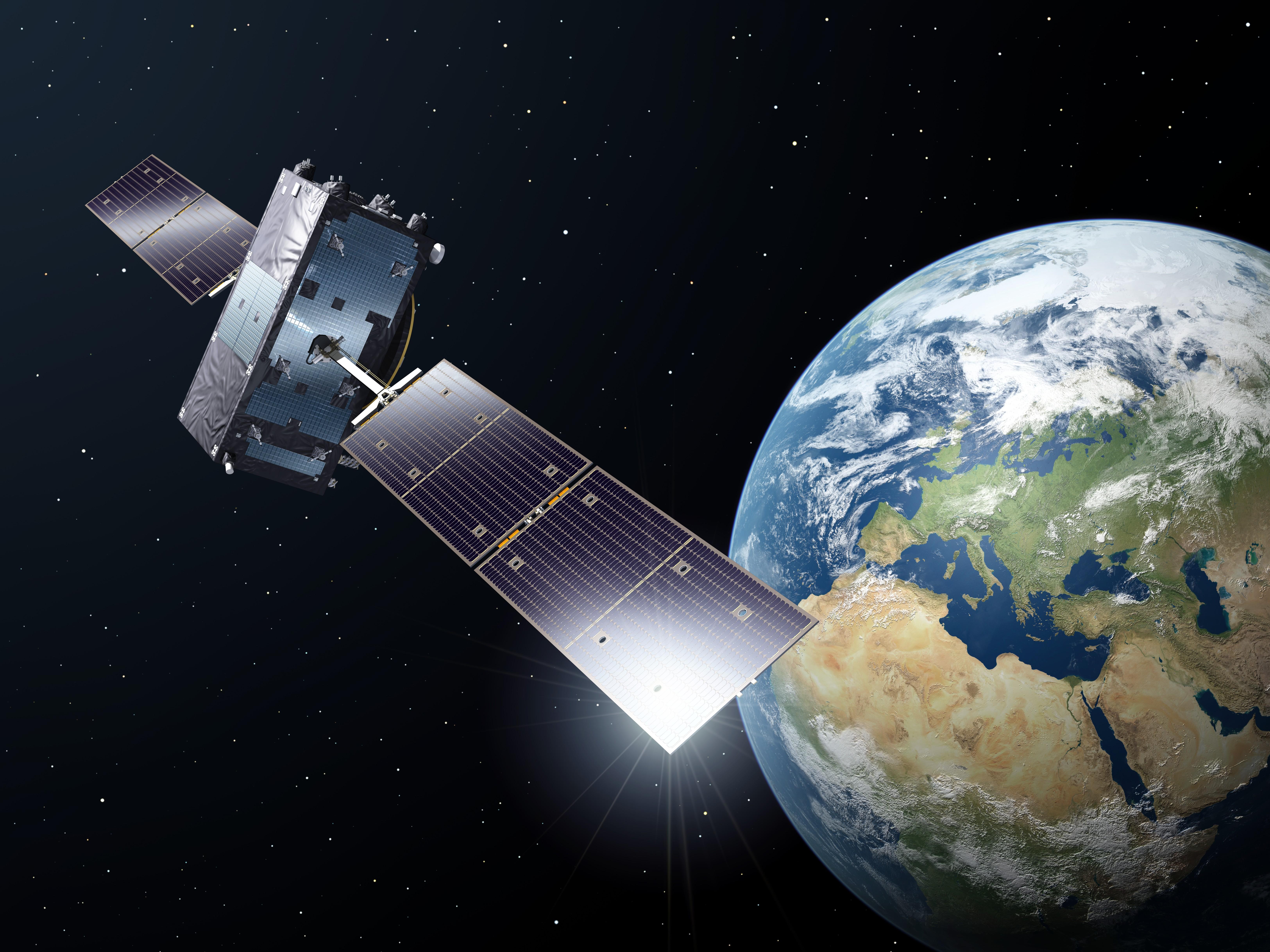 Satellite Set For New Orbit - Google satellite images