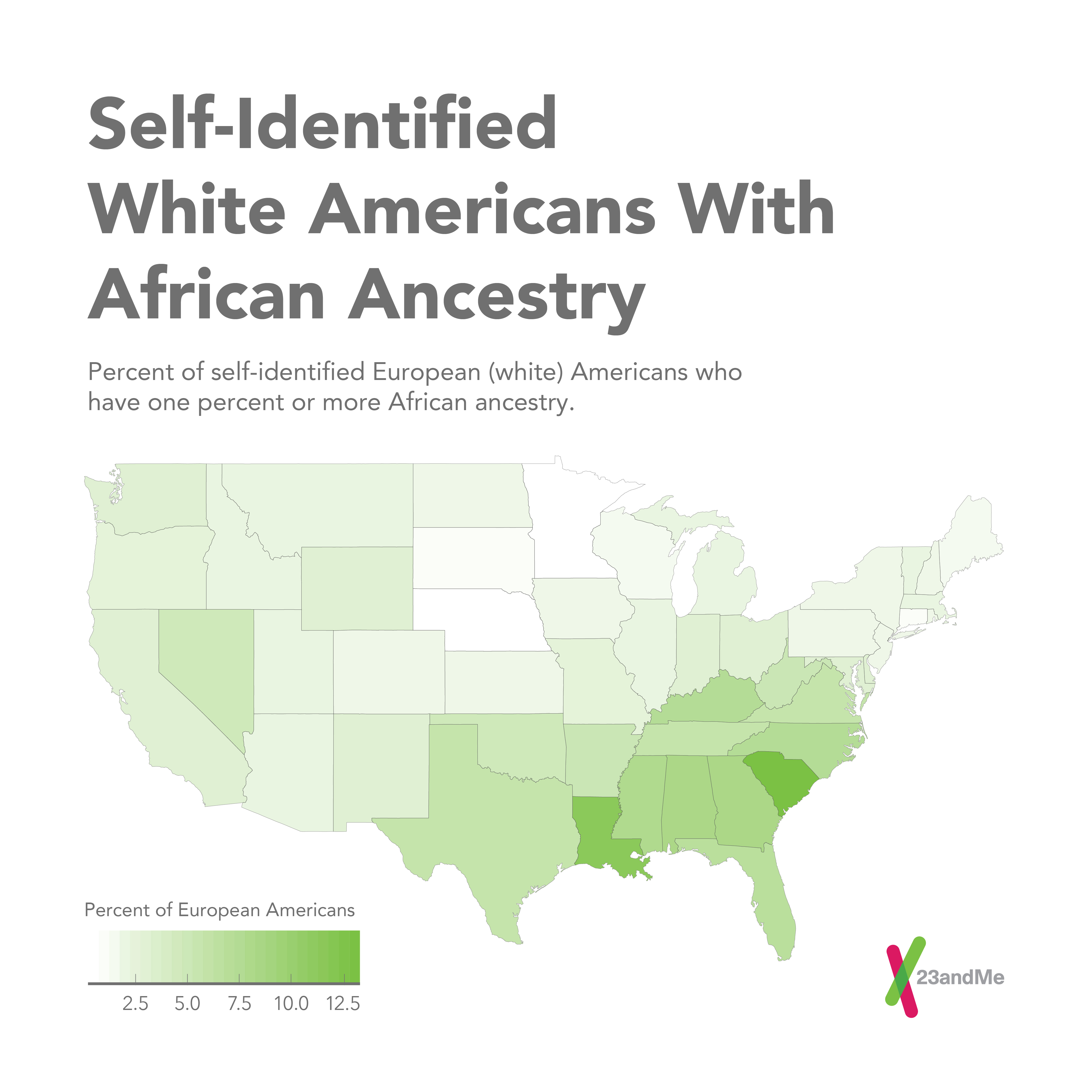23andme Study Sketches Genetic Portrait Of The Us