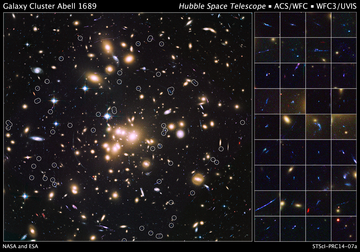 Hubble Unveils A Deep Sea Of Small And Faint Early Galaxies