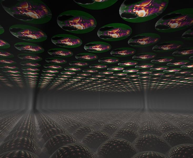 Illuminating neuron activity in 3-D
