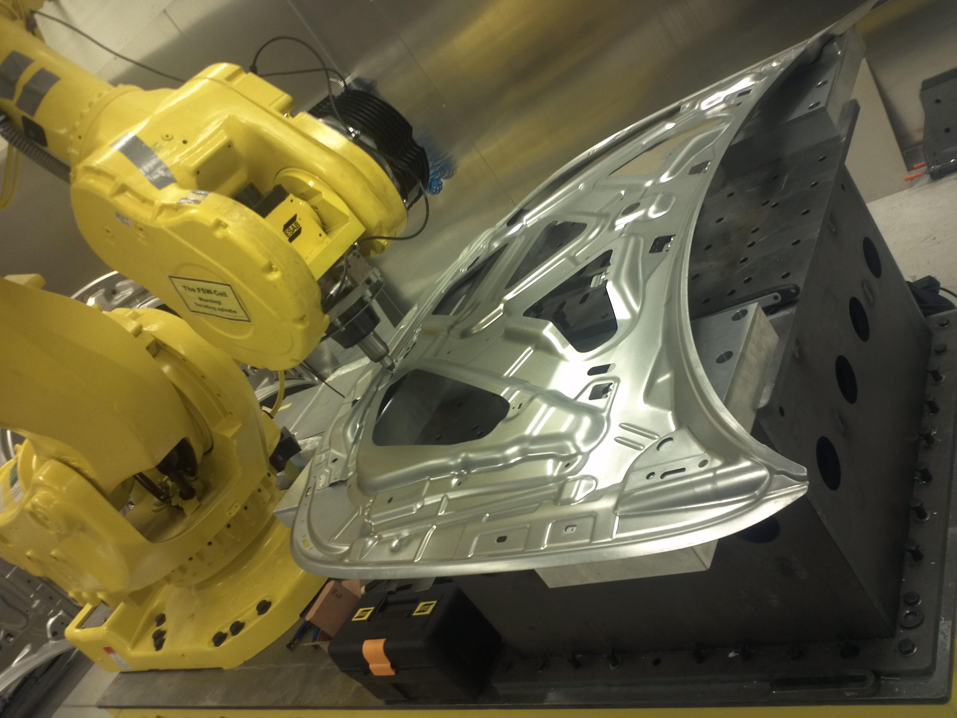 Lighter Cars With New Robotic Welding Method