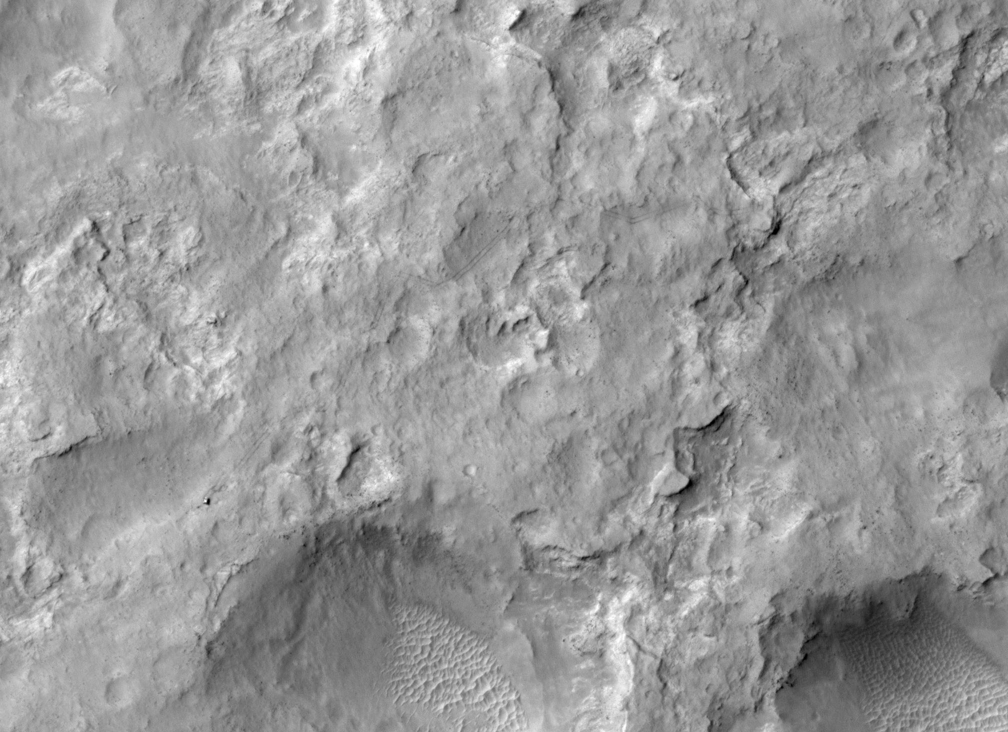 gale crater rover in mars-#8