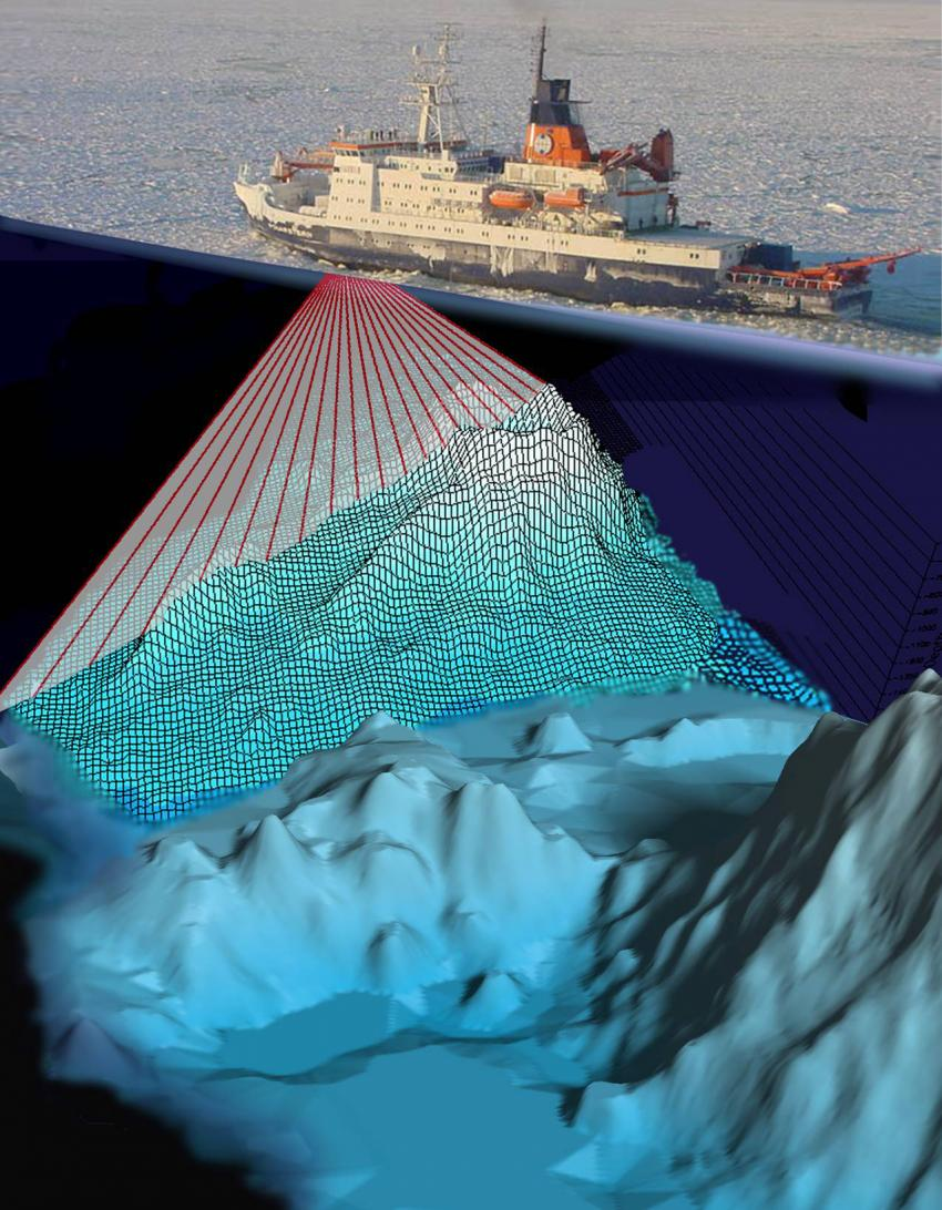 Finding the deepest iceberg scours to date provides new for How did scientists determine the age of the ocean floor
