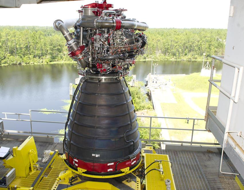 NASA begins engine test project for space launch system rocket