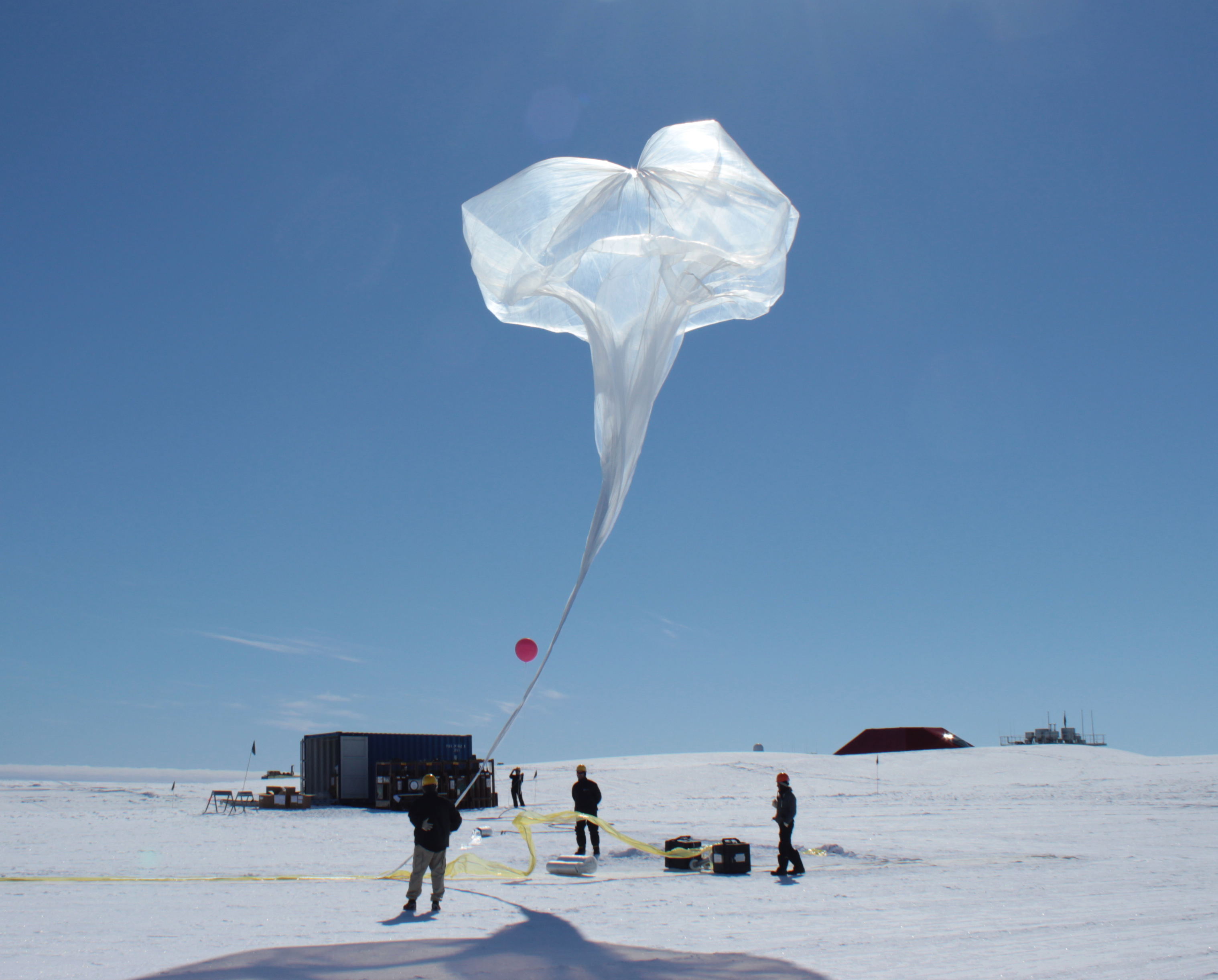 Nasa Funded Science Balloons Launch In Antarctica