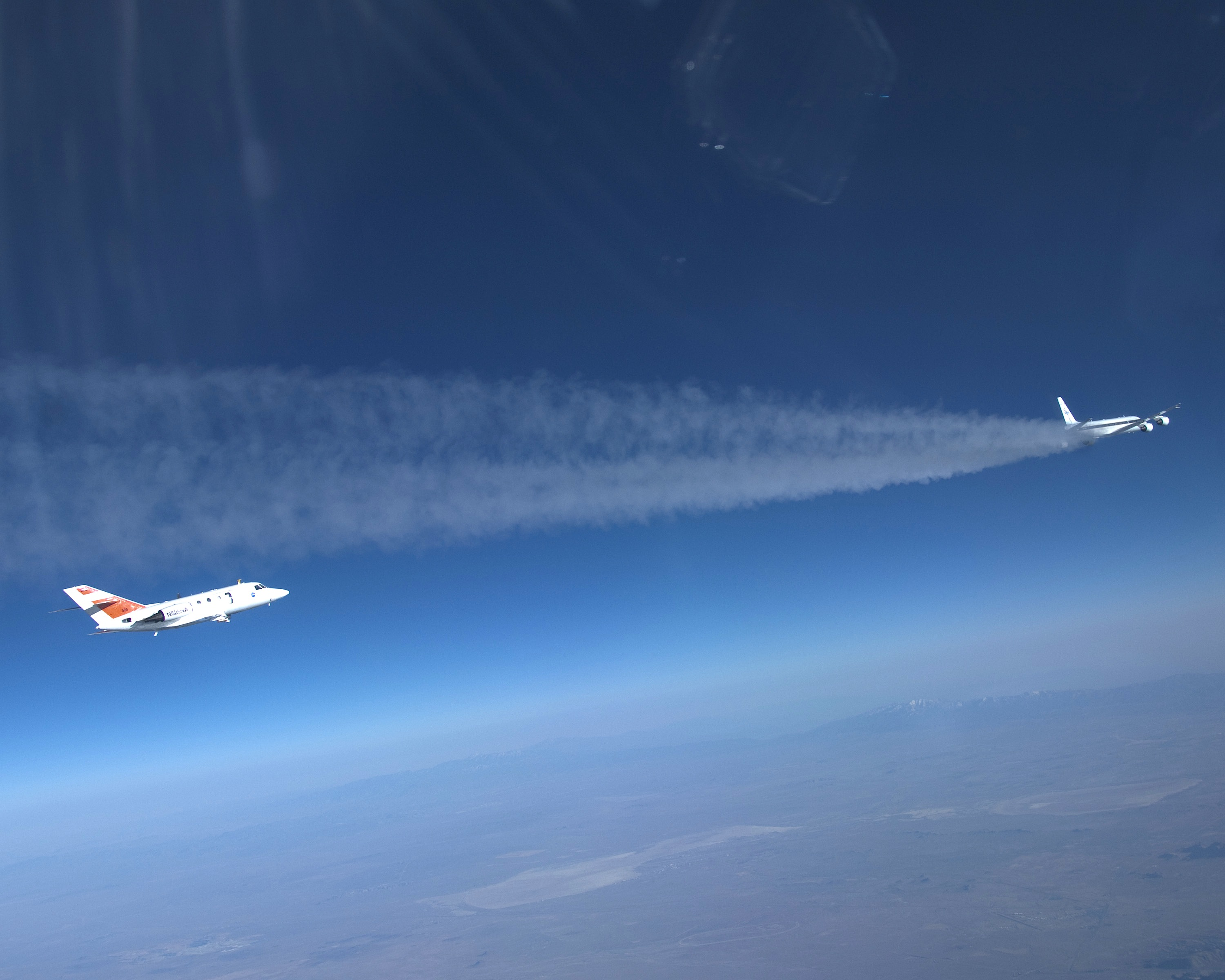 NASA to study the effects on emissions and contrail