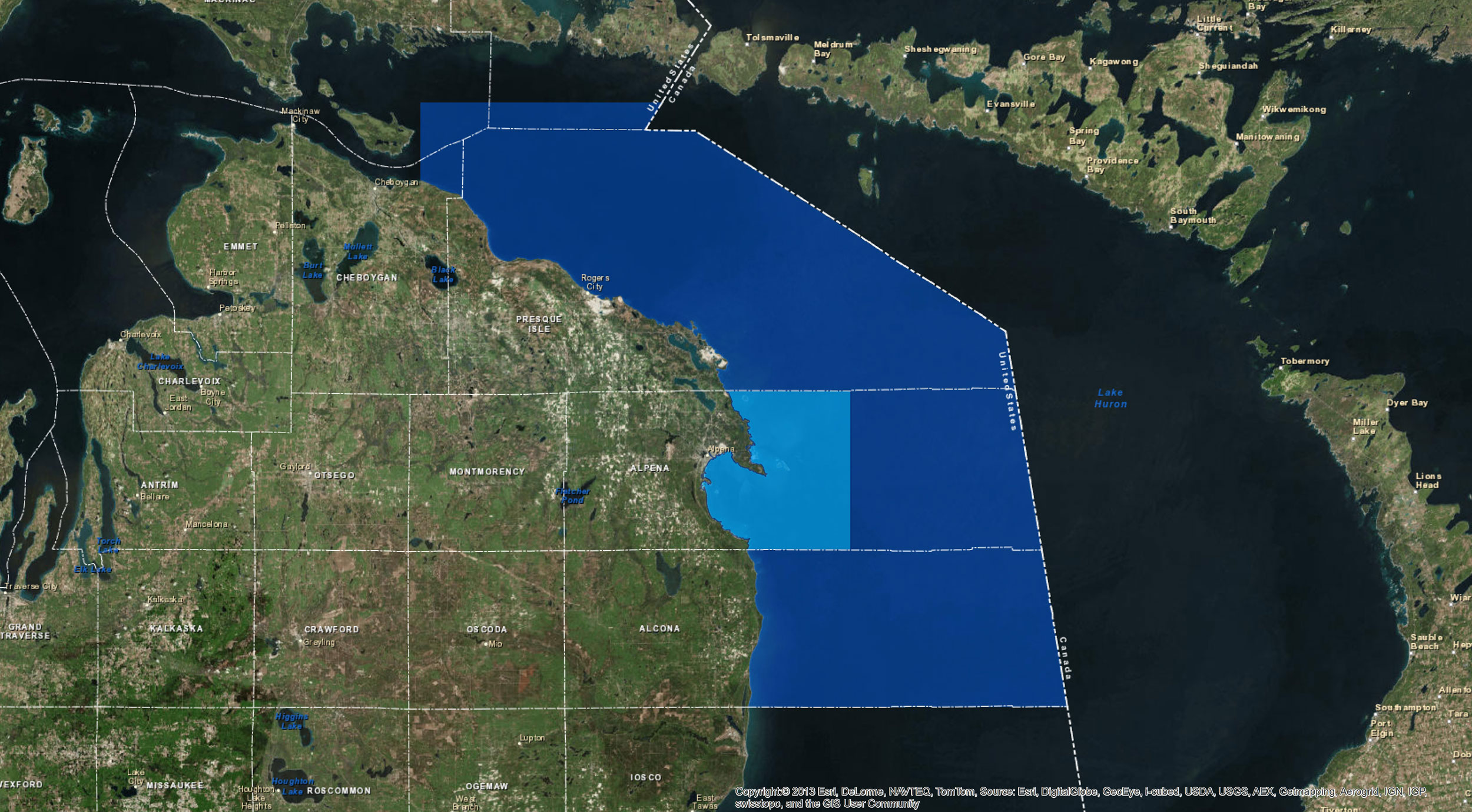 expands Thunder Bay National Marine Sanctuary in Lake Huron