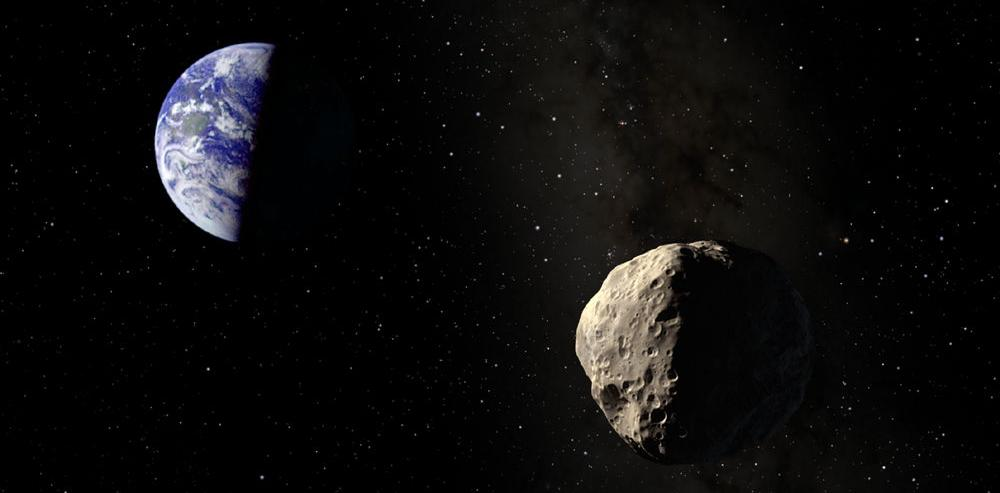 Potentially hazardous asteroid surprises astronomers