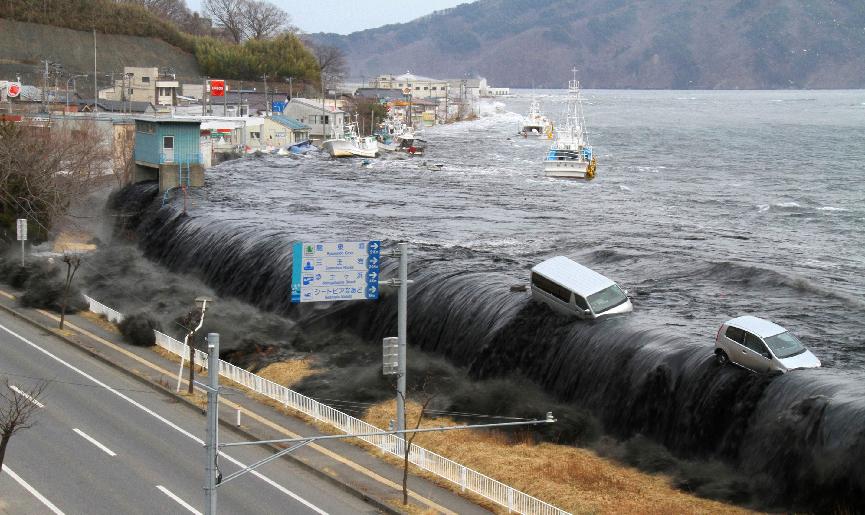 play key role in tsunami warning and mitigation system