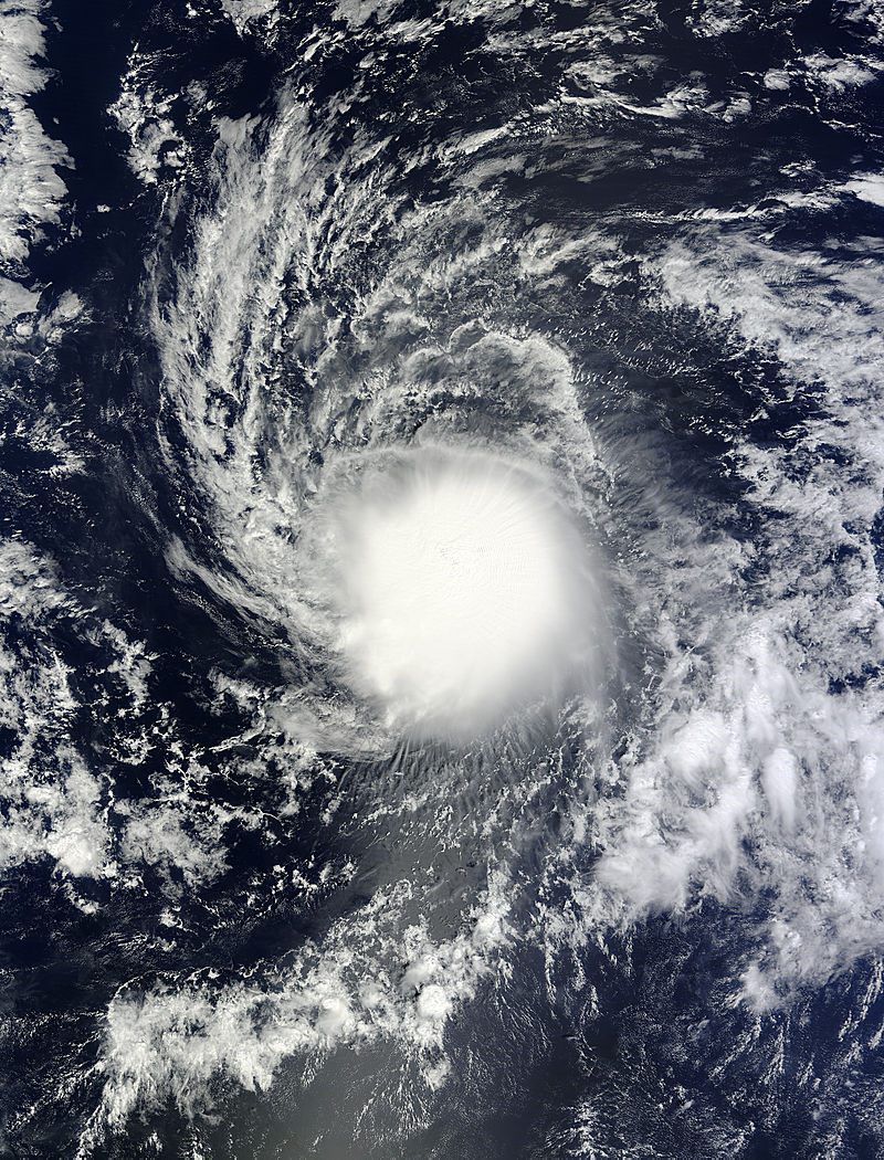 Satellites tracking Central Pacific's Tropical Storm Ana