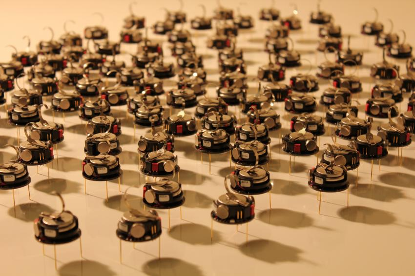 swarm robotics research paper Swarming robots and possible medical applications in this paper a swarm intelligence algorithm robotics research has provided a solution for one of the major.
