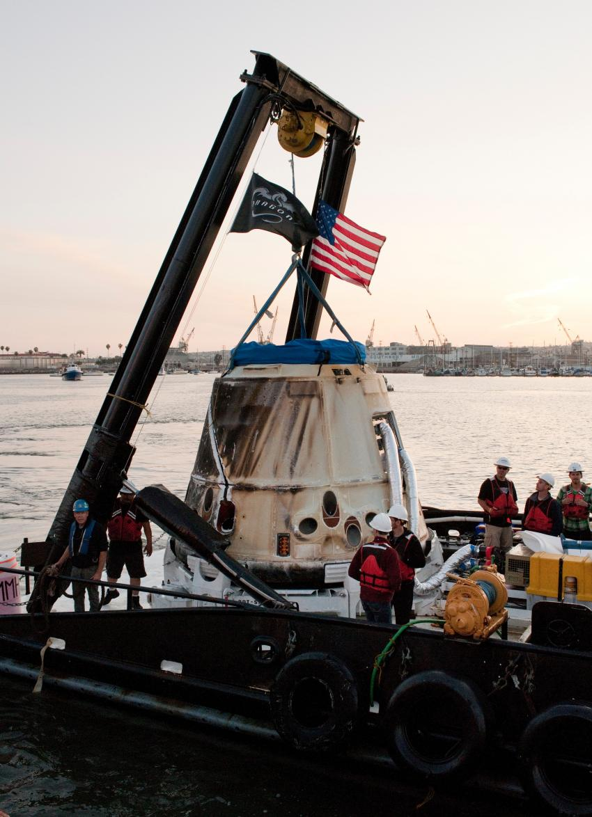 SpaceX-3 mission to return Dragon's share of Space Station ...