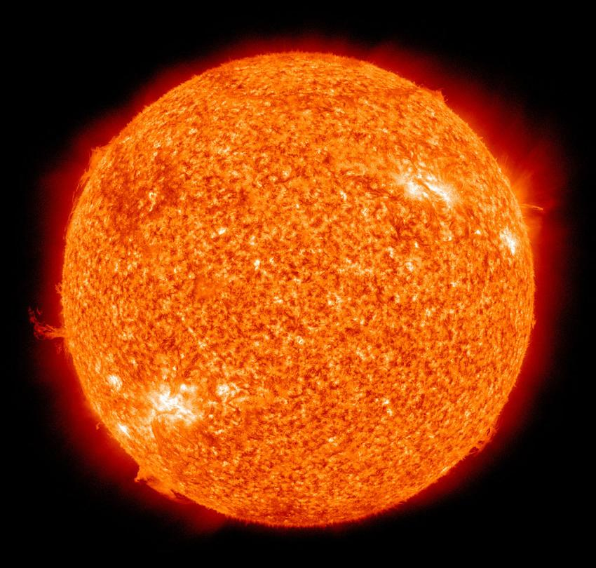 The Sun by the Atmospheric Imaging Assembly of NASA's Solar Dynamics Observatory. Credit: NASA