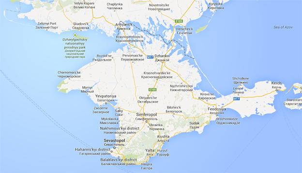 Google Map Of Russia.The Mapmaker S Dilemma How Do You Solve A Problem Like Crimea
