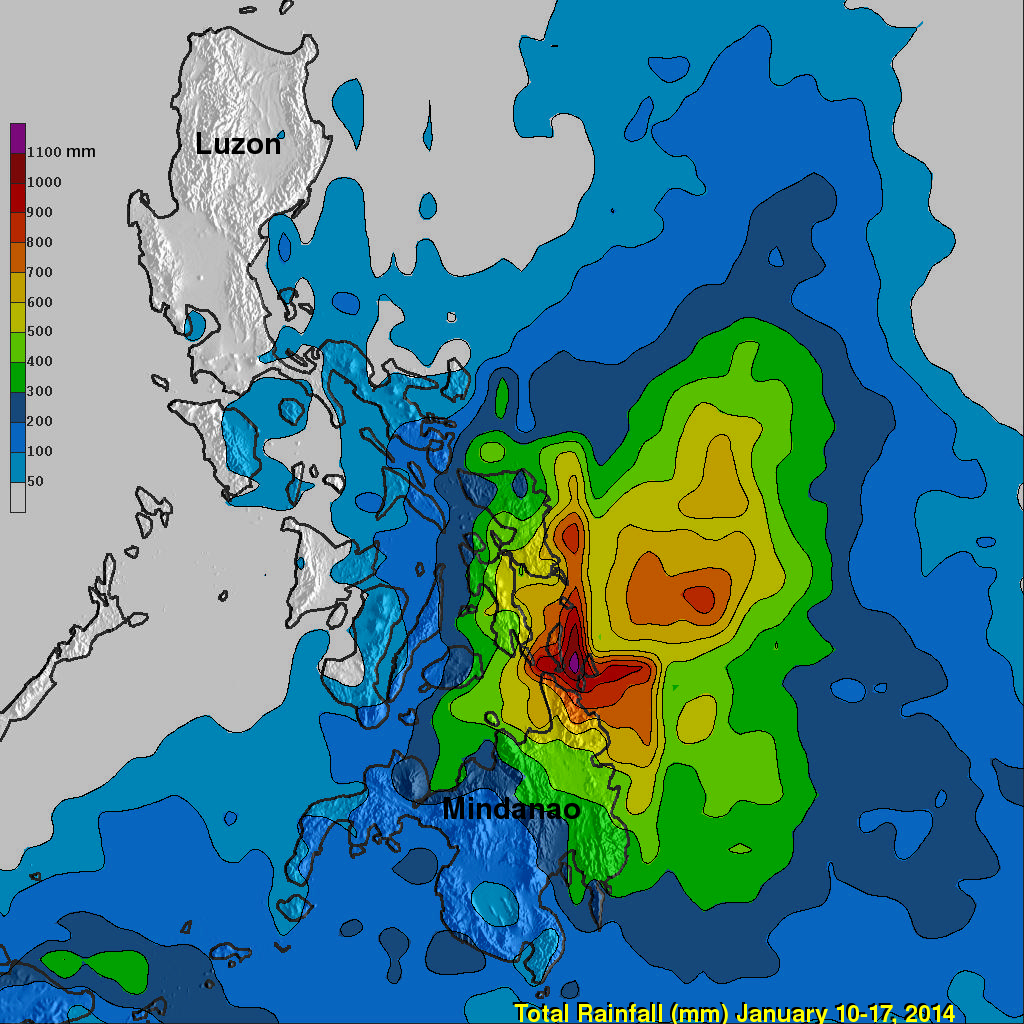 Trmm Satellite Calculates System 91w S Deadly Philippine Flooding