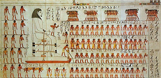 Ancient Egyptians Transported Pyramid Stones Over Wet Sand