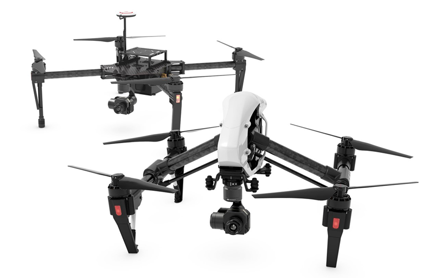 Thermal vision camera systems for UAVs | Vespadrones |Drone Thermal Camera