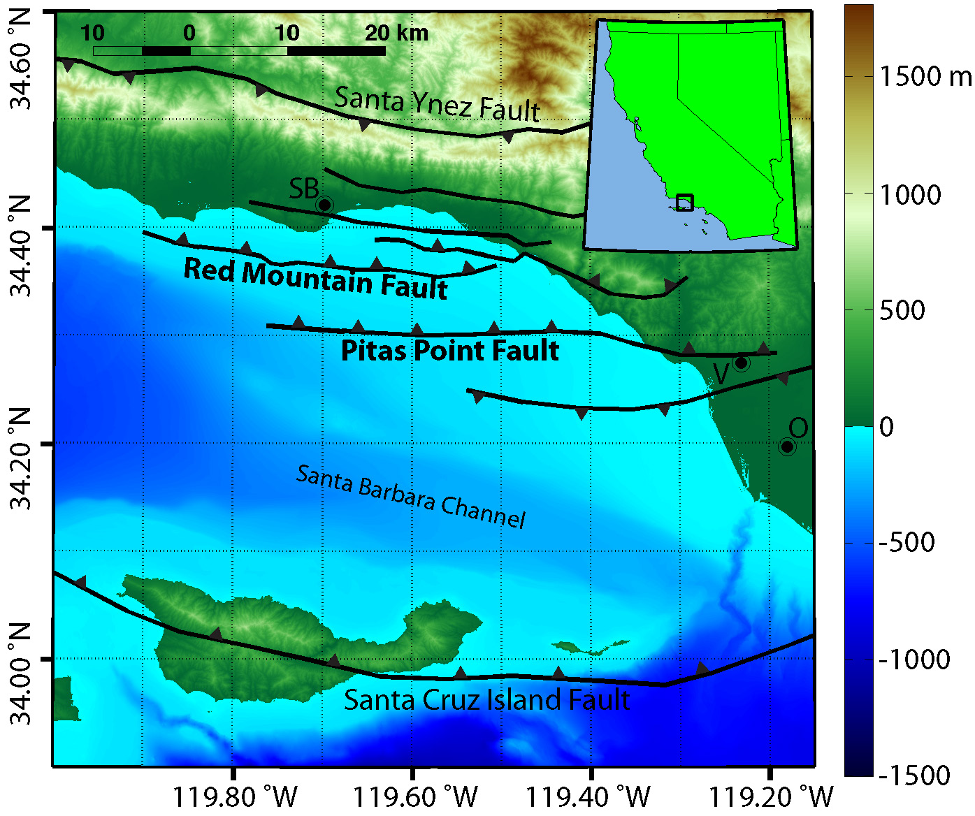 models show significant tsunami strength for Ventura and Oxnard