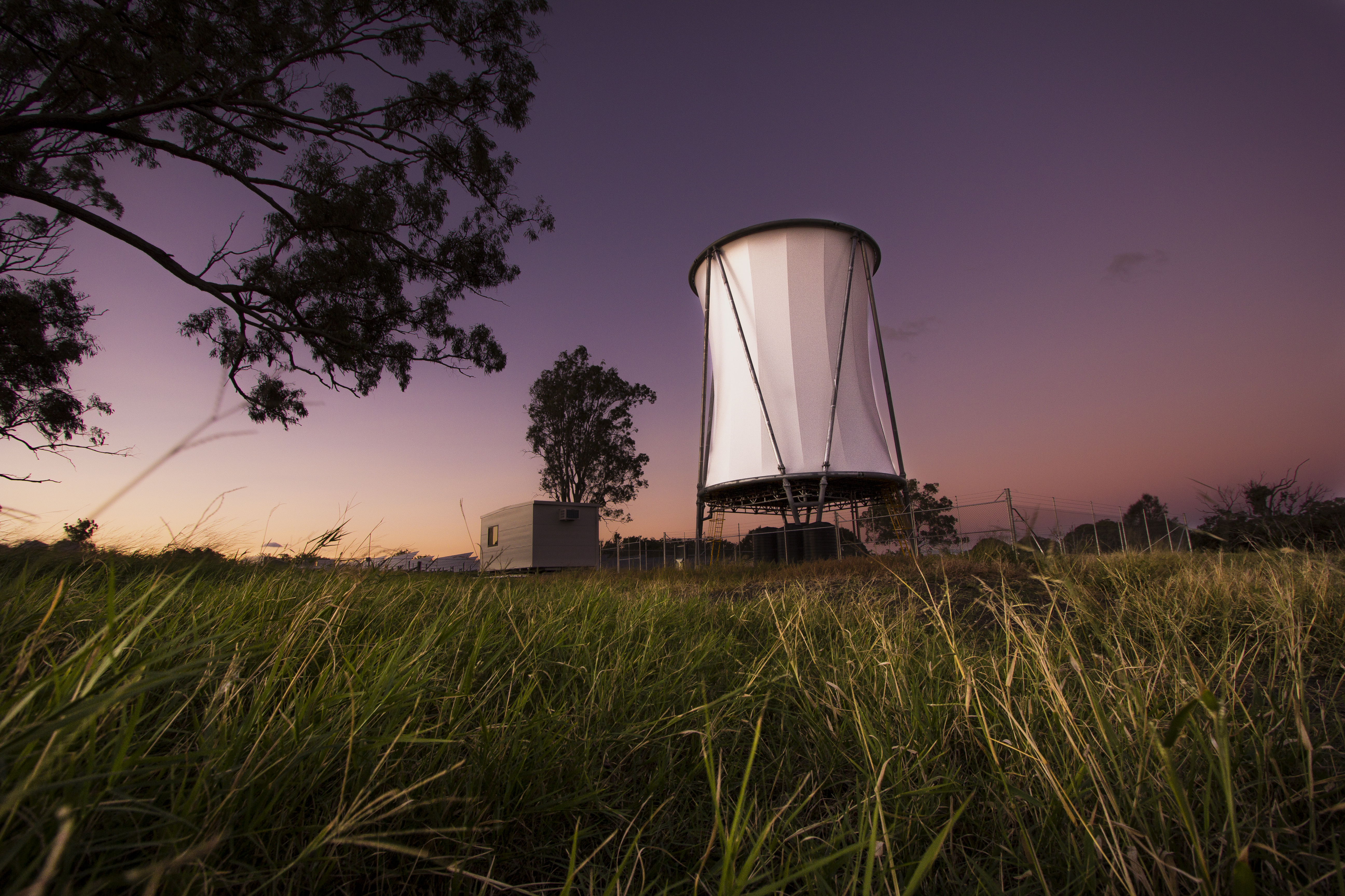tower could revolutionise energy generation in drought areas
