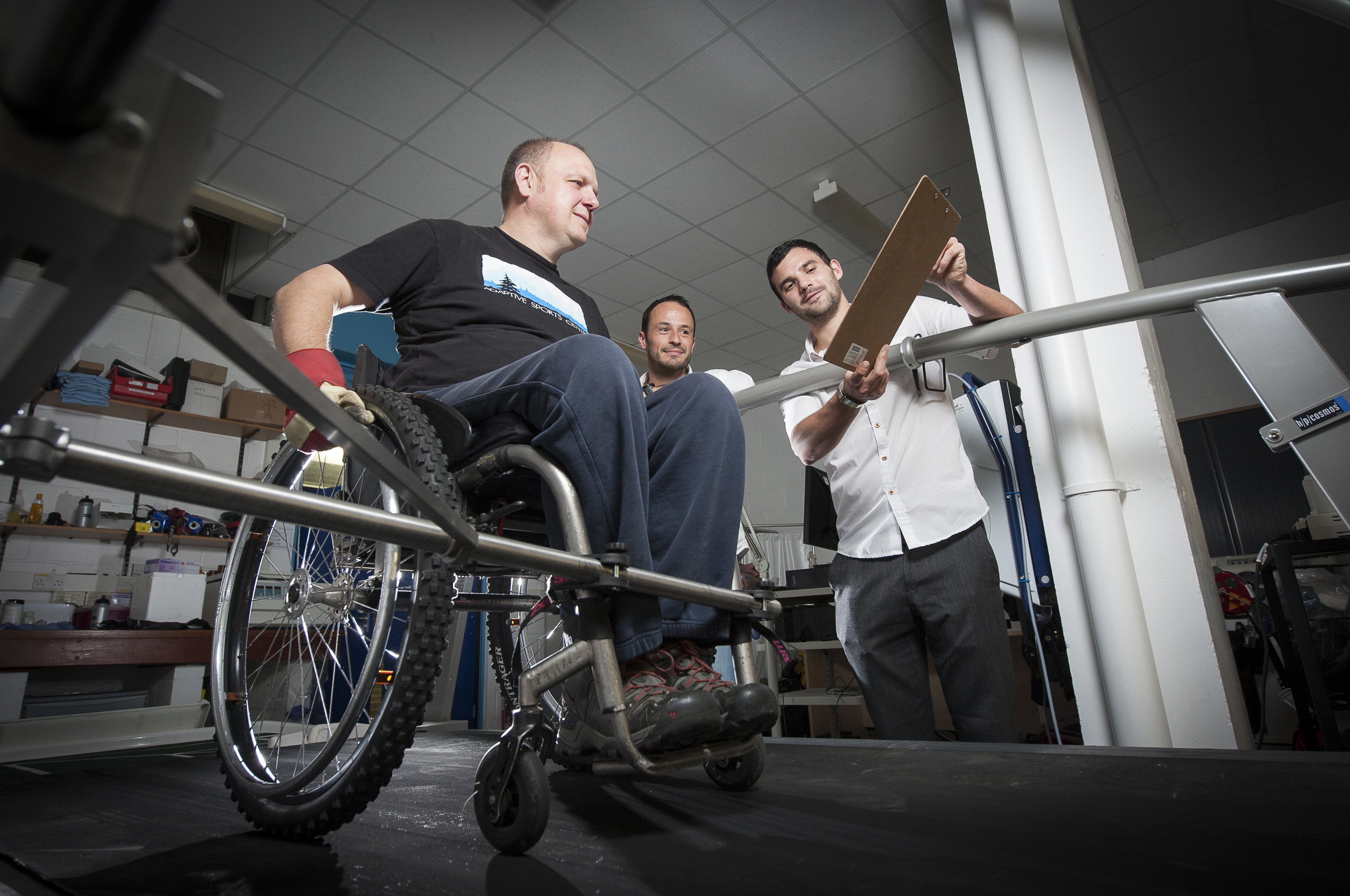 Encouraging wheelchair users to become more physically active