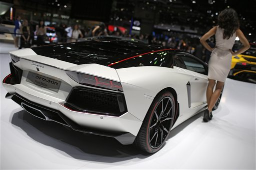 Five Stunners From The Geneva Car Show - Geneva car show