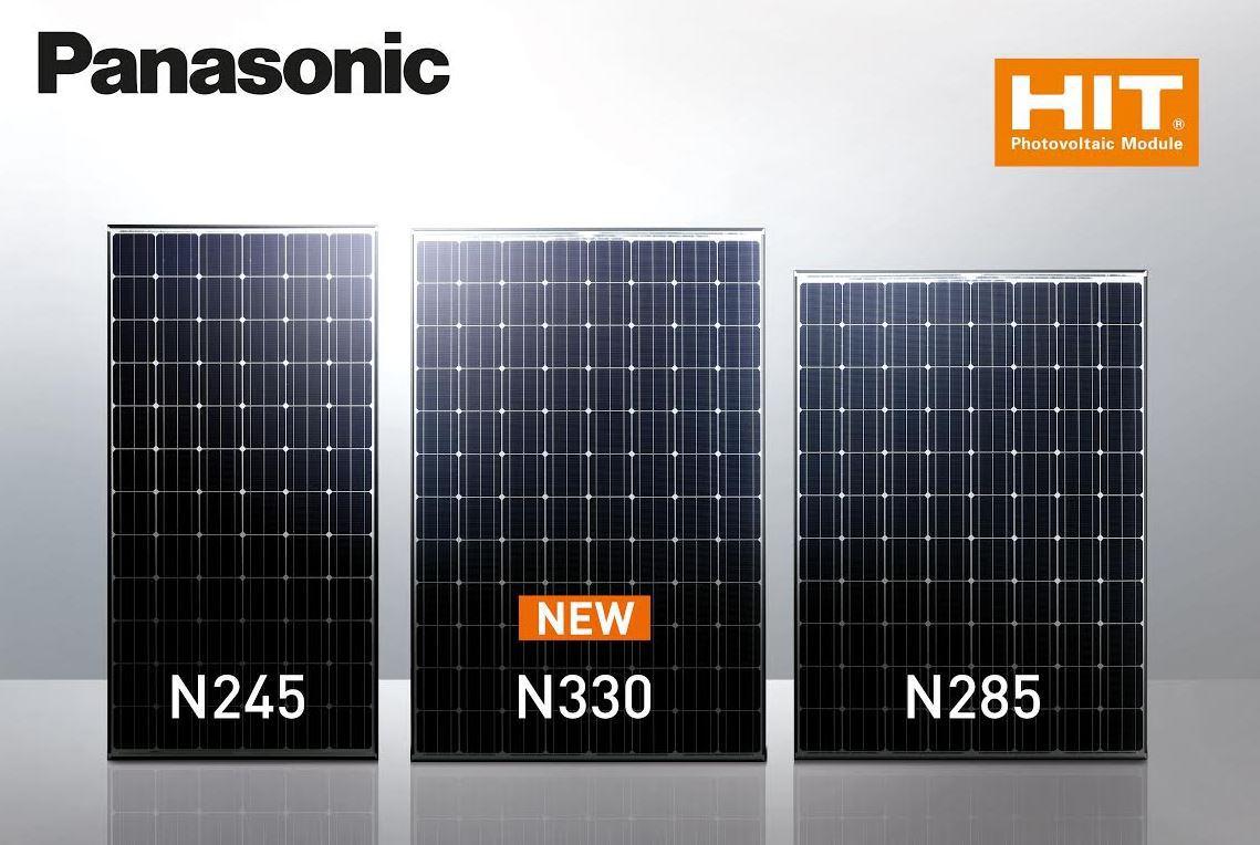 High Efficiency Rating Shines On Panasonic Solar Panel